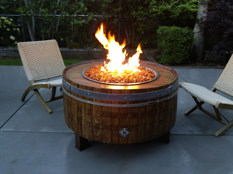 gas fire pit great tips for building your own. Black Bedroom Furniture Sets. Home Design Ideas