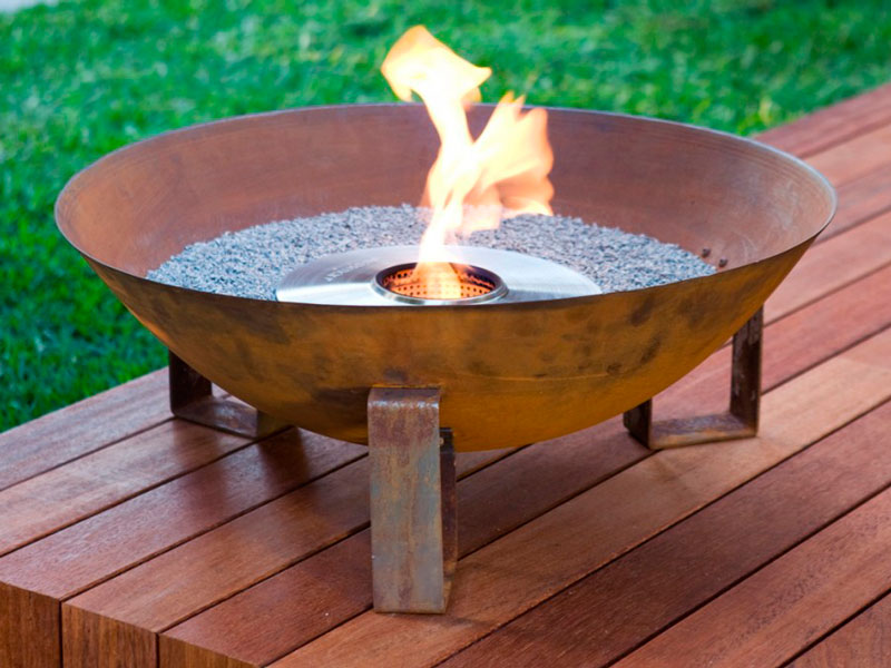 - Ethanol Fire Pits - A Great Alternative For A Small Deck Or Patio