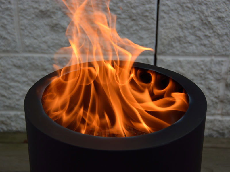 The Flame Genie Pellet Fire Pit S Unique Burning Experience