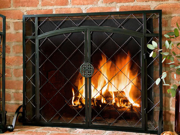 what to consider when choosing fireplace doors