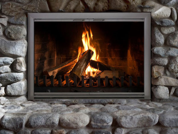 product review of the celebrity stock fireplace door by thermorite
