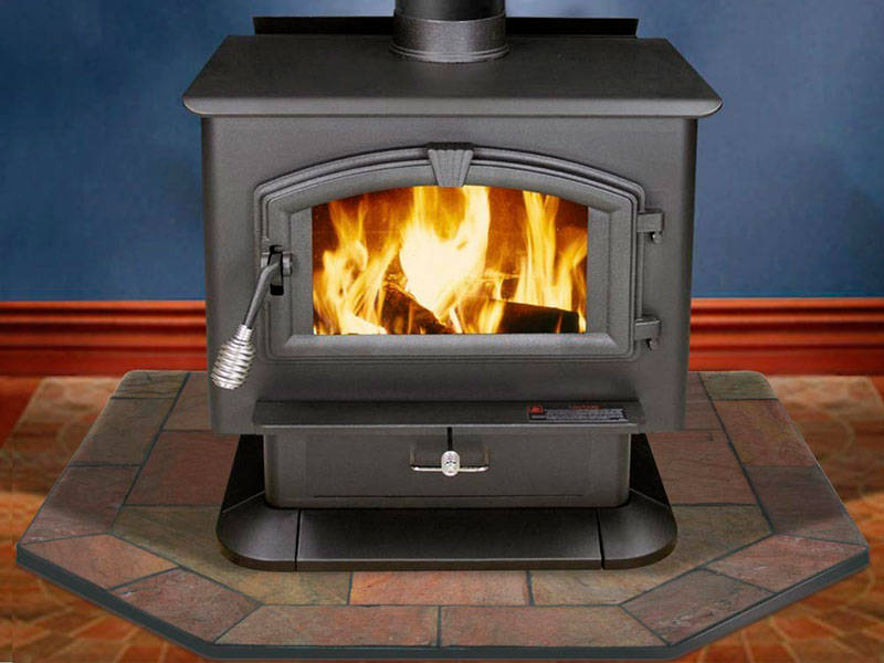 Protect Floors And Walls When Heating With A Wood Stove
