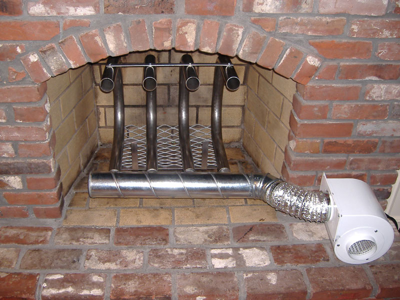 Choose one of the fireplace grate heaters to increase the efficiency of your traditional fireplace and get a higher heat output for your home.